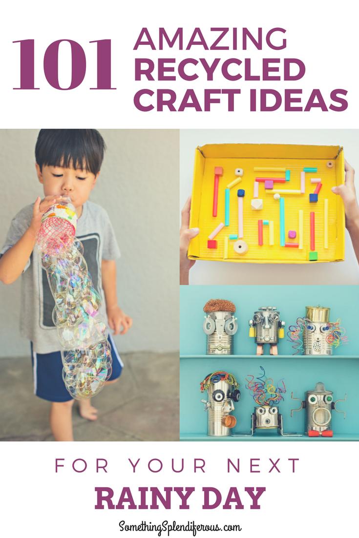 Recycled Craft Ideas www.somethingsplendiferous.com