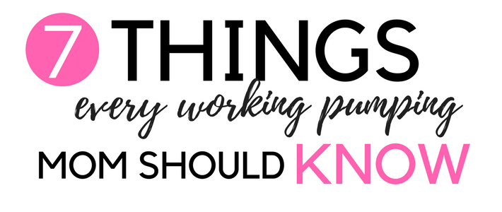 pumping working www.somethingsplendiferous.com Are you a working mom who pumps? Then this post is for you. I'm a working mama and it was hard to go back to work while pumping. Here are some helpful tips if you plan to do the same.