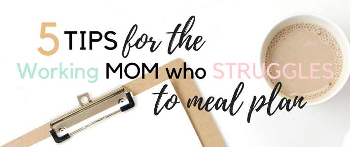 I love to create and design, especially things that will help me stay more organized and or focused. Do you have a hard time keeping everything straight? As a working mom, I have to plan meals out, otherwise we won't eat! Haha, not really, but it probably wouldn't be good. It would either be something from the freezer or fast food. 5 Tips for the Overwhelmed Working Mom Who Struggles to Meal Plan www.somethingsplendiferous.com