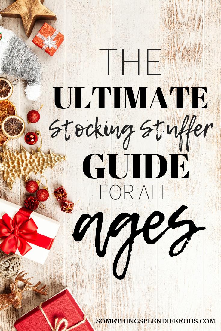 The Ultimate Stocking Stuffer Guide for All Ages #Christmas #stocking #Stuffer #xmas #secretsanta #santa
