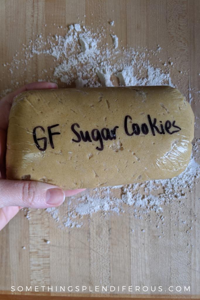 gluten free sugar cookie no gluten free flour required